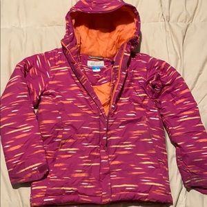 Columbia Heavy winter coat (girls)